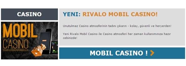 Rivalo mobil casino