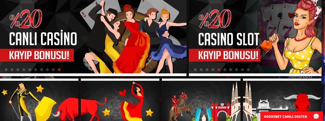 Adiosbet Canlı Casino