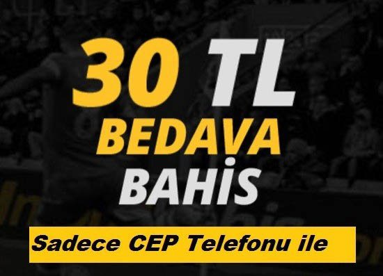 30 tl bedava bonus