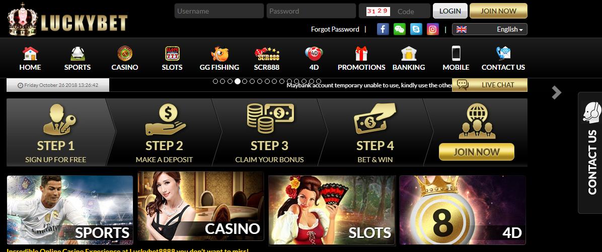 Luckybet casino