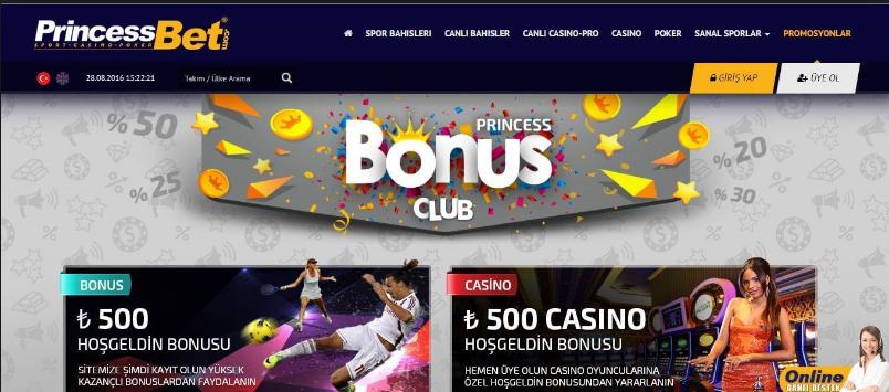 Princessbet 30 Free Spin Bonusu