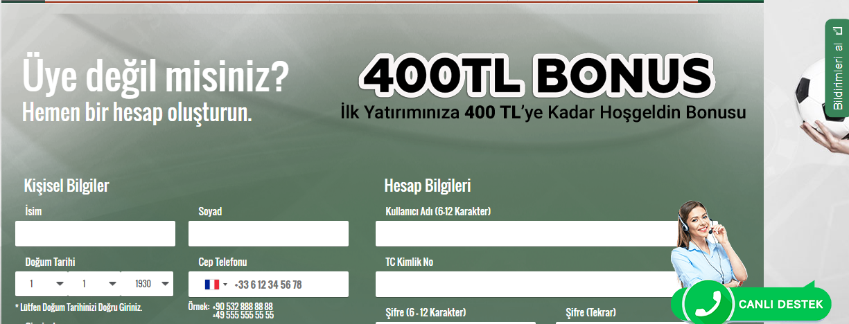Betist 20 Tl Bedava Bahis Bonusu
